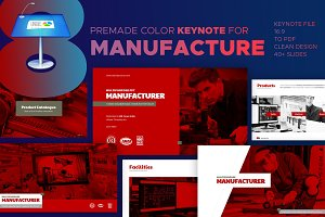 Manufacture - Keynote Template