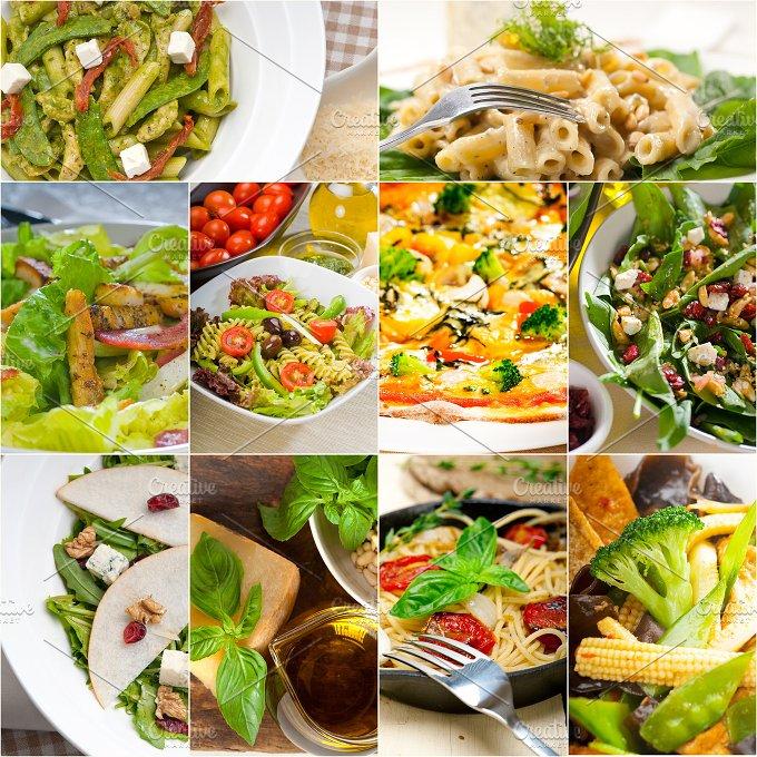 healthy vegetarian food collection collage 4.jpg - Food & Drink