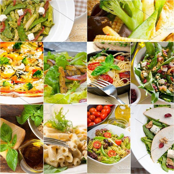 healthy vegetarian food collection collage 5.jpg - Food & Drink