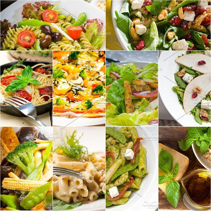 healthy vegetarian food collection collage 7.jpg - Food & Drink