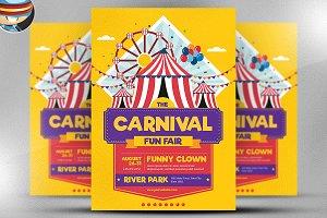 Carnival Funfair Event Flyer