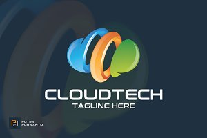 Cloud Tech - Logo Template