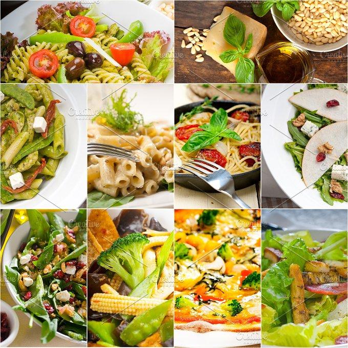healthy vegetarian food collection collage 10.jpg - Food & Drink