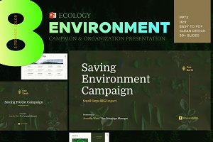 Eco Environment -Powerpoint Template