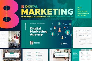Digital Marketing Powerpoint Templat