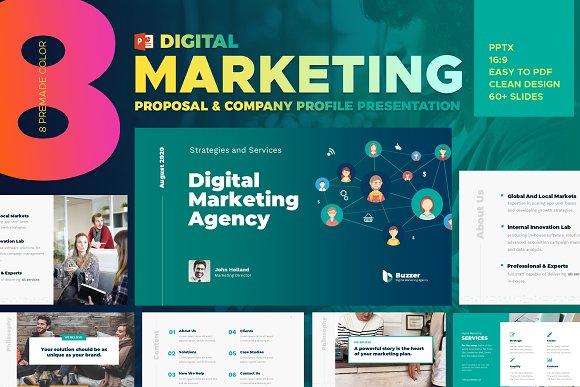 Digital Marketing Powerpoint Templat