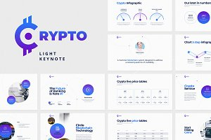 CRYPTO Keynote Template (Light)