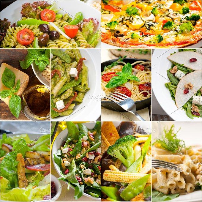 healthy vegetarian food collection collage 16.jpg - Food & Drink
