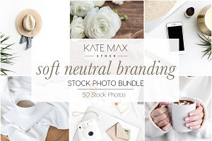 Soft Neutral Stock Photo Bundle