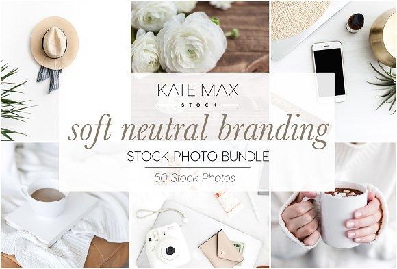 Soft Neutral Stock Photo Bundle
