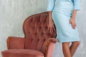 Slim fashion woman