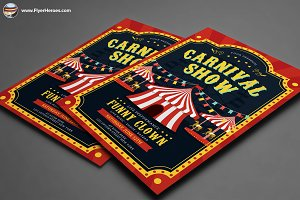 Carnival Show Flyer Template