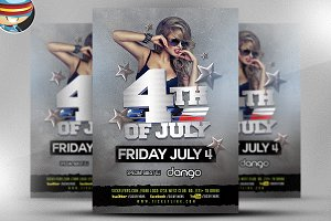 4TH of July Flyer Template v4