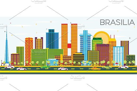 BrasЁЄlia Brazil City Skyline