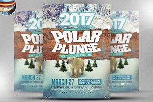 Polar Plunge Flyer Template v2