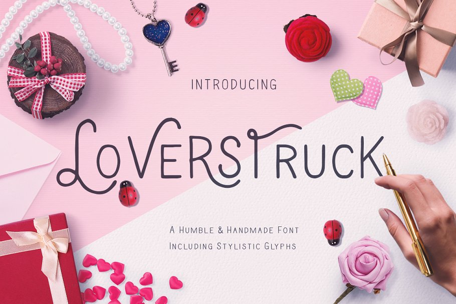 Loverstruck in Display Fonts - product preview 8