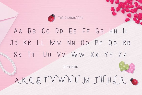 Loverstruck in Display Fonts - product preview 1