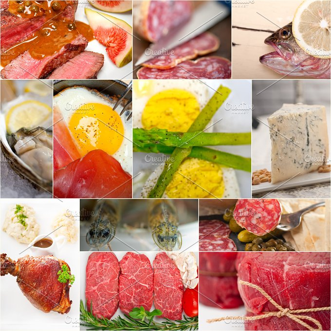 high protein content food collage 19.jpg - Food & Drink