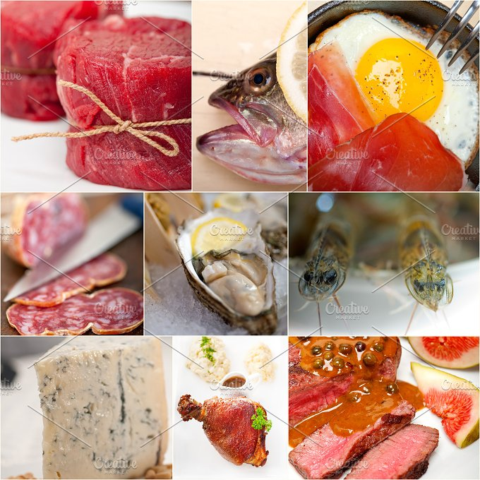 high protein diet collage 3.jpg - Food & Drink