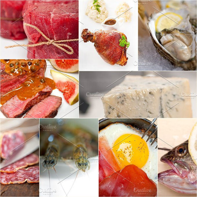 high protein diet collage 4.jpg - Food & Drink