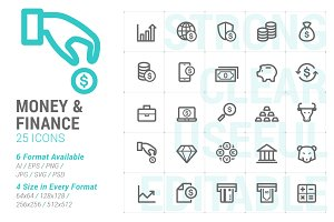 Money & Finance Mini Icon