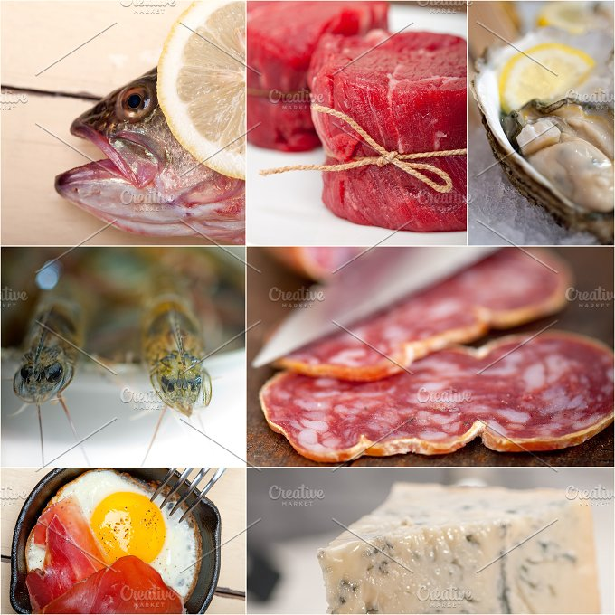 high protein diet collage 14.jpg - Food & Drink