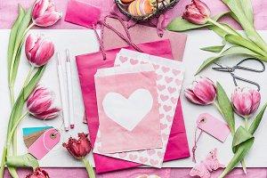 Easter greeting card making