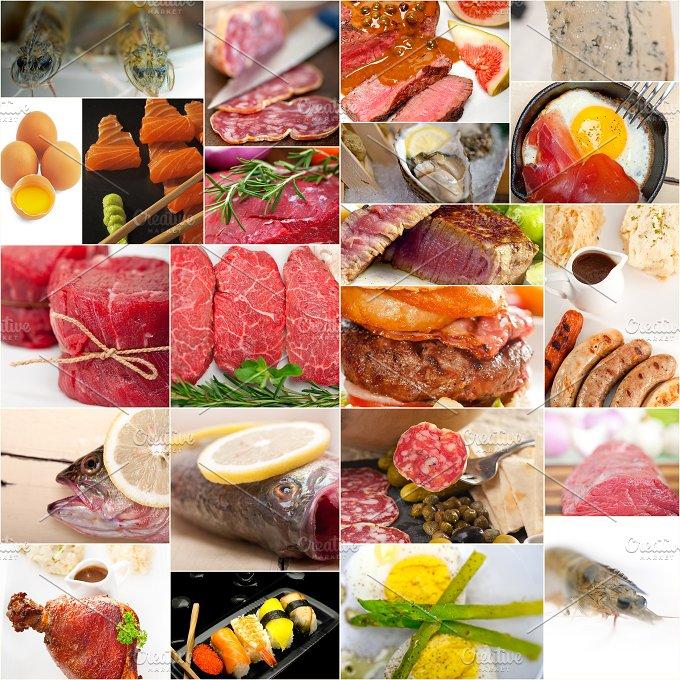 high protein food collage 3.jpg - Food & Drink