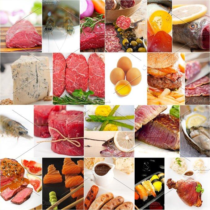 high protein food collage 4.jpg - Food & Drink