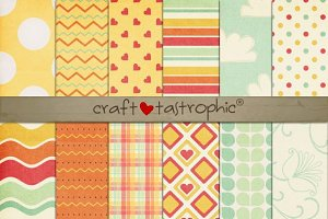 Hop Into Spring Paper Pack