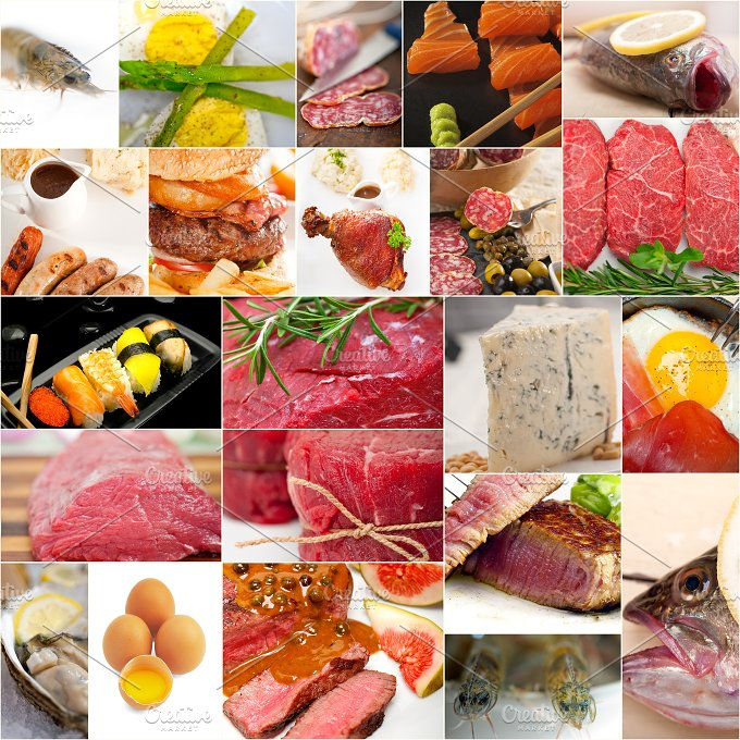 high protein food collage 5.jpg - Food & Drink