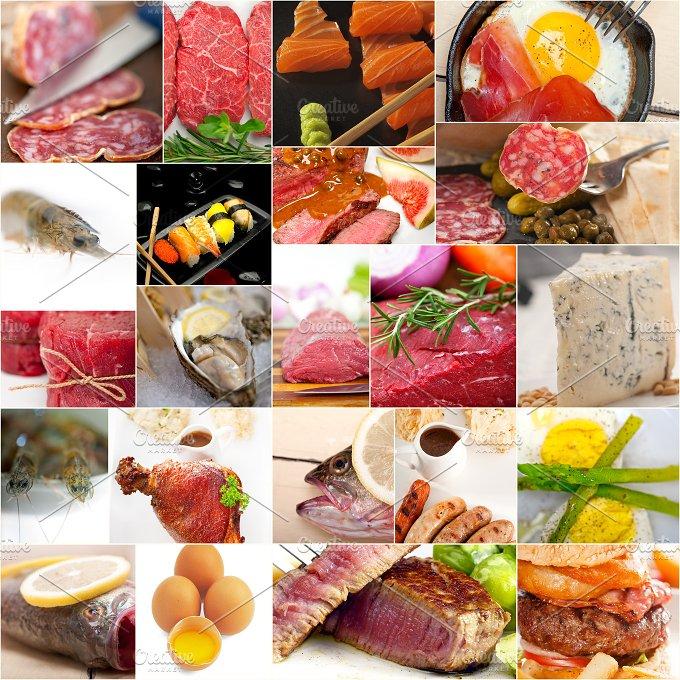 high protein food collage 16.jpg - Food & Drink
