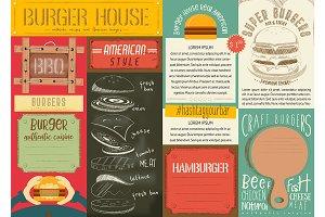 Burger Menu Placemat