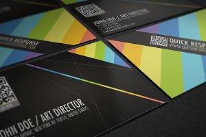 QR  code business card design 02