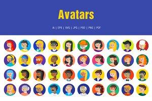 Avatars Icons