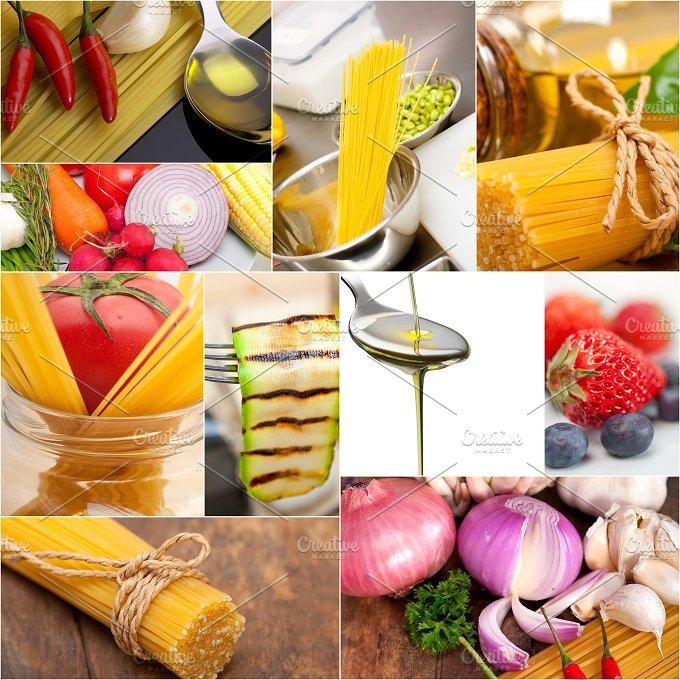 Italian food ingredients collage 2.jpg - Food & Drink