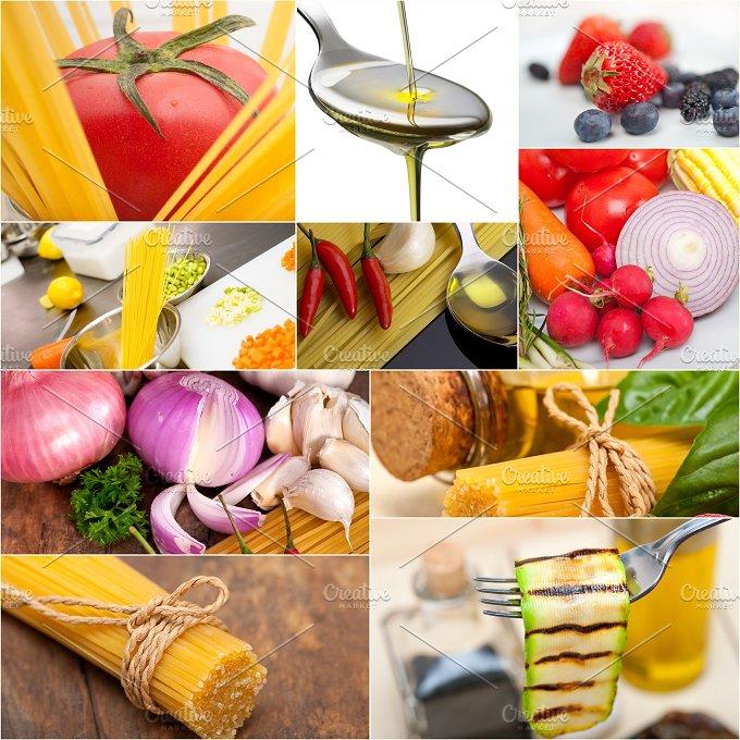 Italian food ingredients collage 7.jpg - Food & Drink