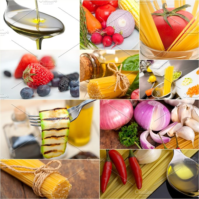 Italian food ingredients collage 8.jpg - Food & Drink