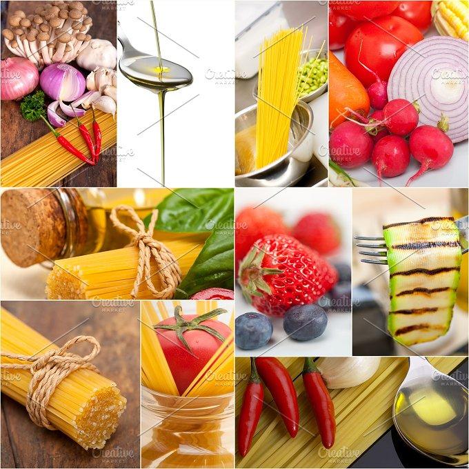 Italian food ingredients collage 10.jpg - Food & Drink