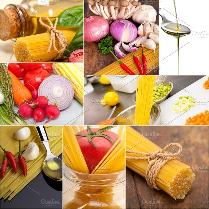 Italian food ingredients collage 11.jpg - Food & Drink