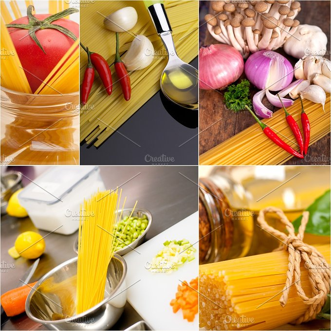 Italian food ingredients collage 16.jpg - Food & Drink