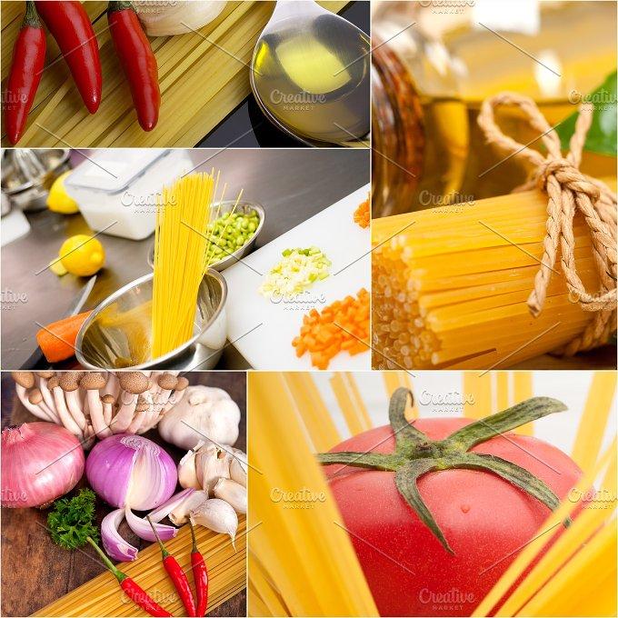 Italian food ingredients collage 18.jpg - Food & Drink