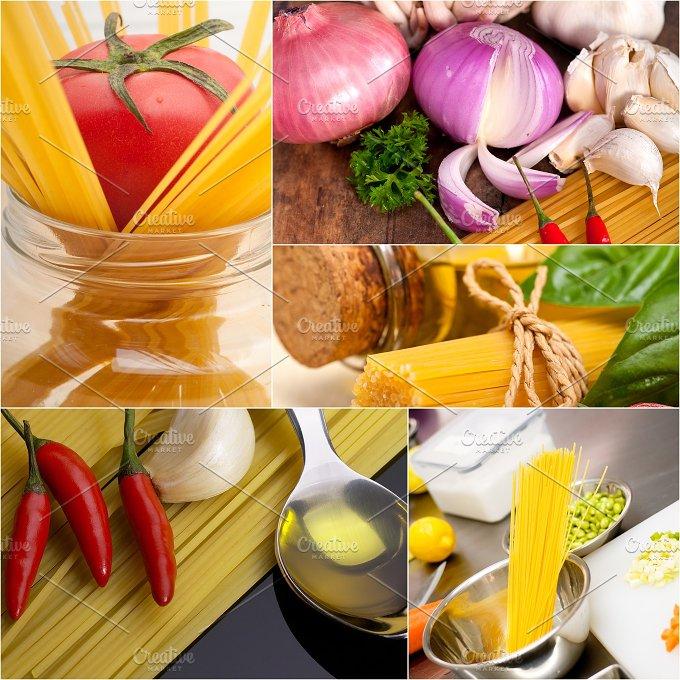 Italian food ingredients collage 20.jpg - Food & Drink