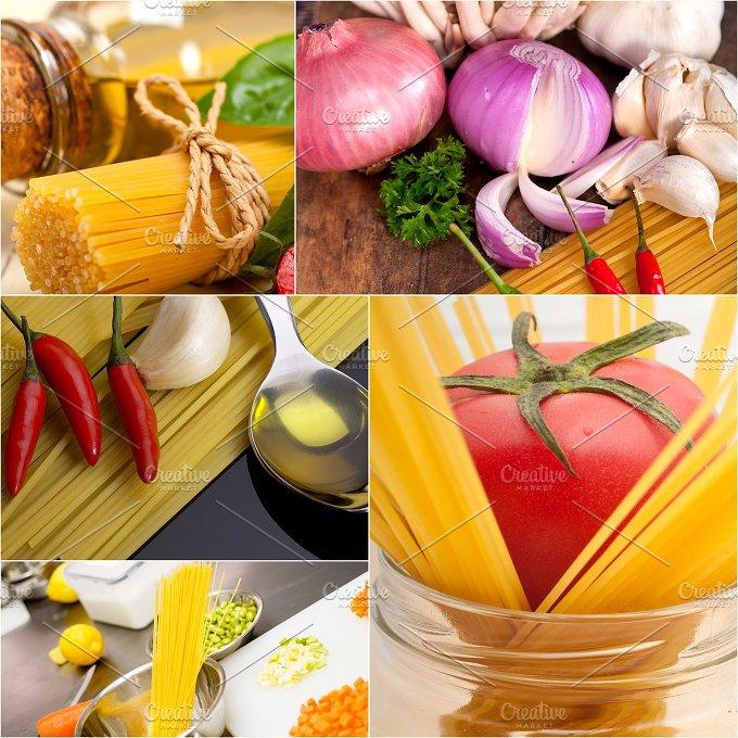 Italian food ingredients collage 23.jpg - Food & Drink