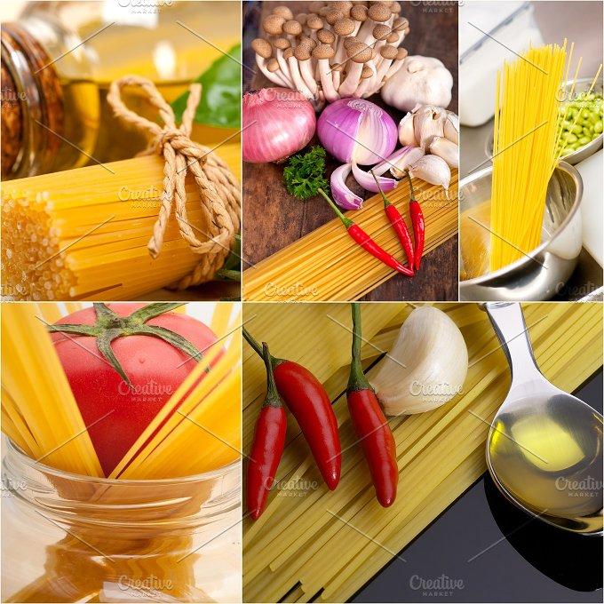 Italian food ingredients collage 25.jpg - Food & Drink