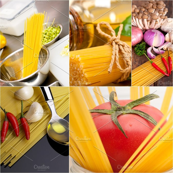 Italian food ingredients collage 29.jpg - Food & Drink
