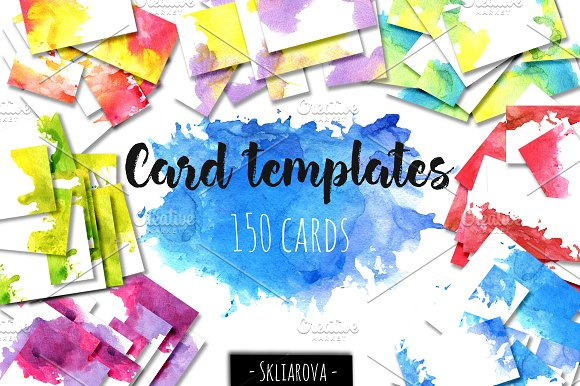 Card Templates Big Collection