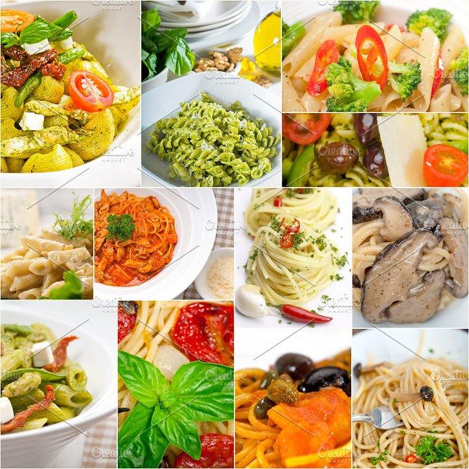 Italian pasta collage 5.jpg - Food & Drink