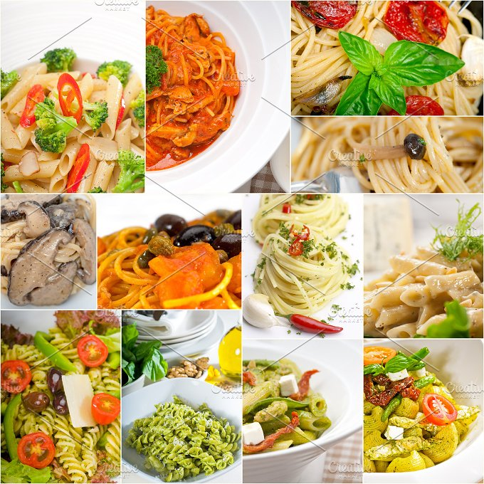 Italian pasta collage 4.jpg - Food & Drink