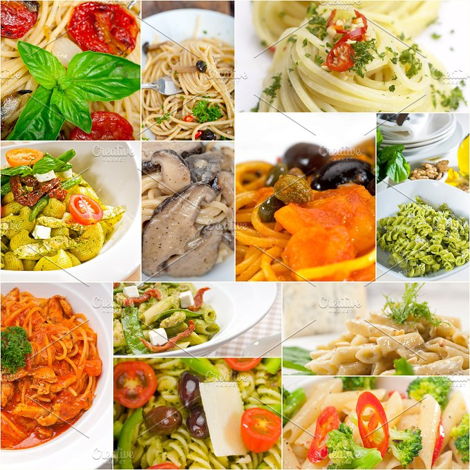 Italian pasta collage 8.jpg - Food & Drink